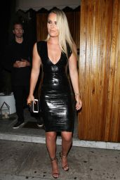 Lindsey Vonn Night Out Style - Nice Guy in West Hollywood 7/12/2016