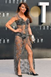 Lizzie Cundy – 'The Legend of Tarzan' Premiere in London