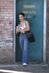Lucy Hale - Leaves a Building in Beverly Hills 7/26/2016
