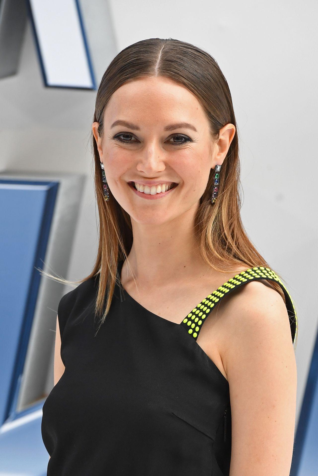 Lydia Wilson Star Trek Beyond Premiere In London Uk