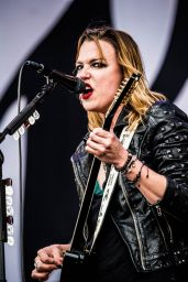 Lzzy Hale Performs at Pinkpop Festival 2016 in Landgraaf, Netherlands, June 2016