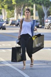 Maia Mitchell in Leggings - Shopping in LA 7/11/2016