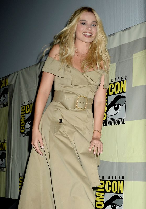 Margot Robbie - 'Suicide Squad' Press Line at Comic-Con International 2016 in San Diego