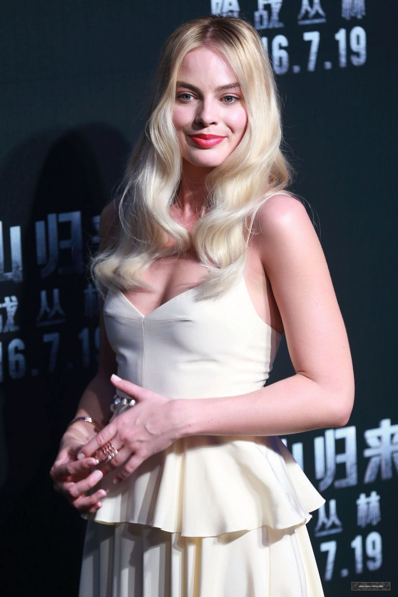 Margot Robbie The Legend Of Tarzan Premiere In Beijing