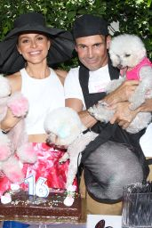 Maria Menounos - Throws a Sweet 16 Birthday Party for Her Dog in Los Angeles
