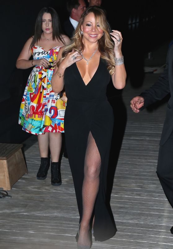 Mariah Carey - Leonardo DiCaprio Foundation Gala in St. Tropez, France7/20/2016