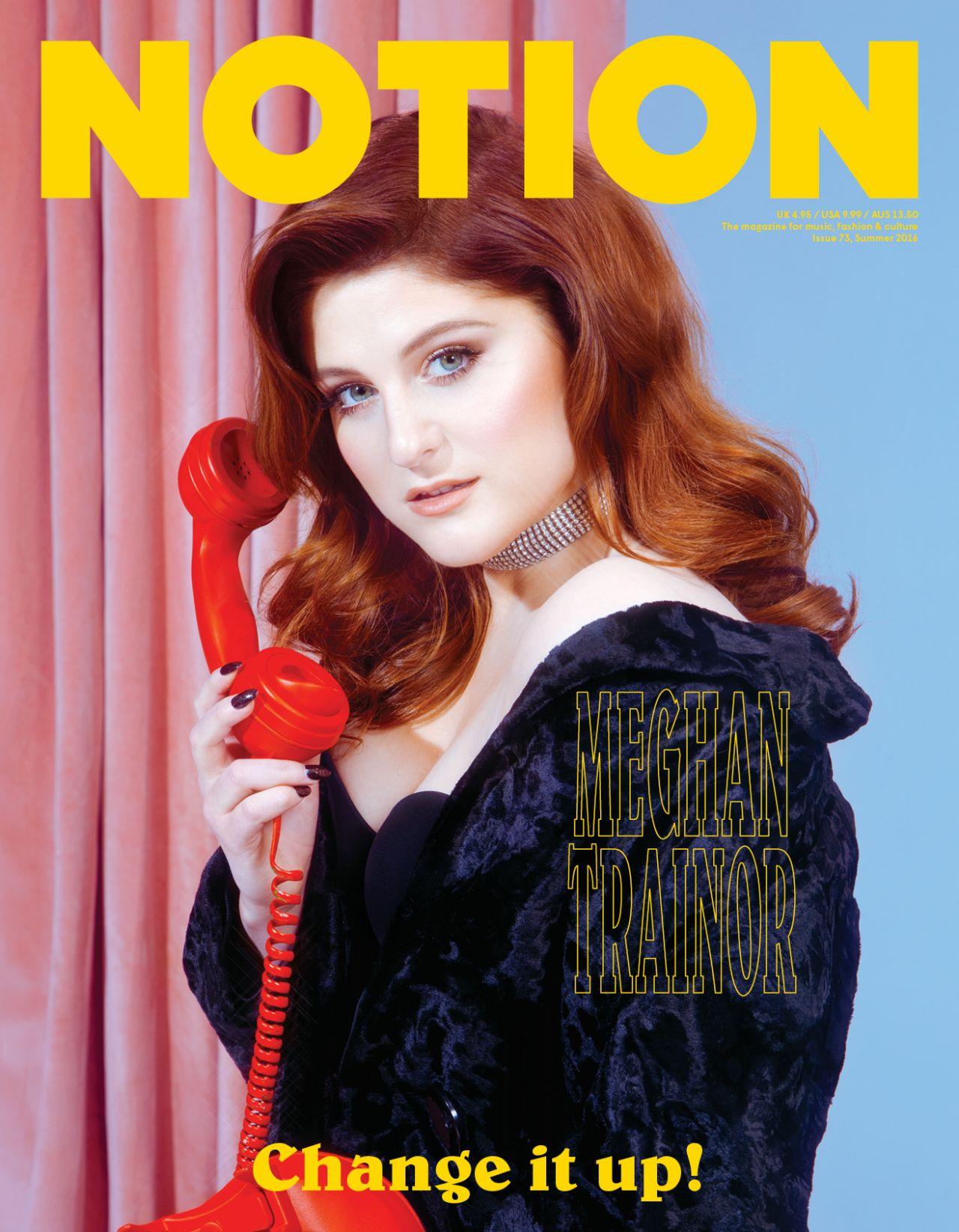 Meghan Trainor Notion Magazine 73 Summer 2016