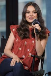 Mila Kunis - AOL Build Speaker Series in New York City 7/20/2016