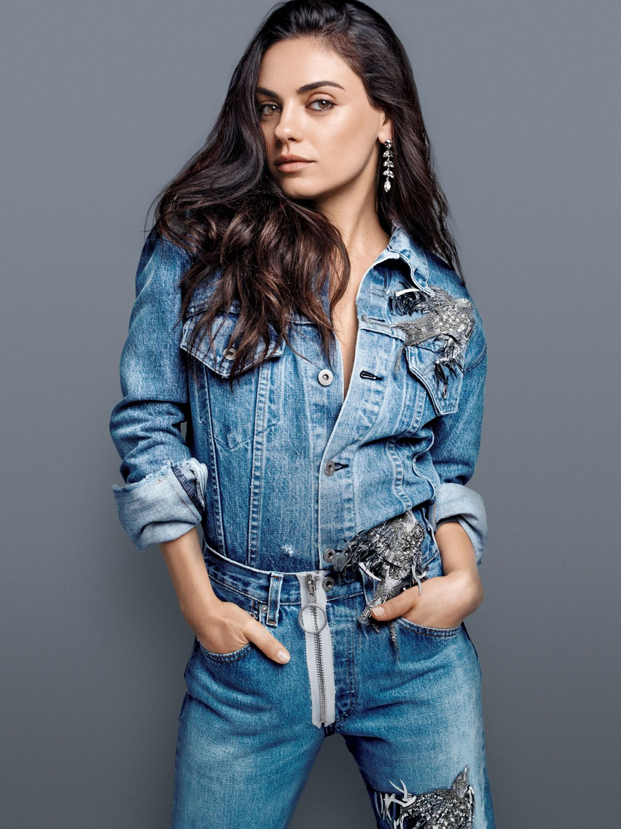 Mila Kunis - Photoshoot for US Glamour August 2016 Mila Kunis