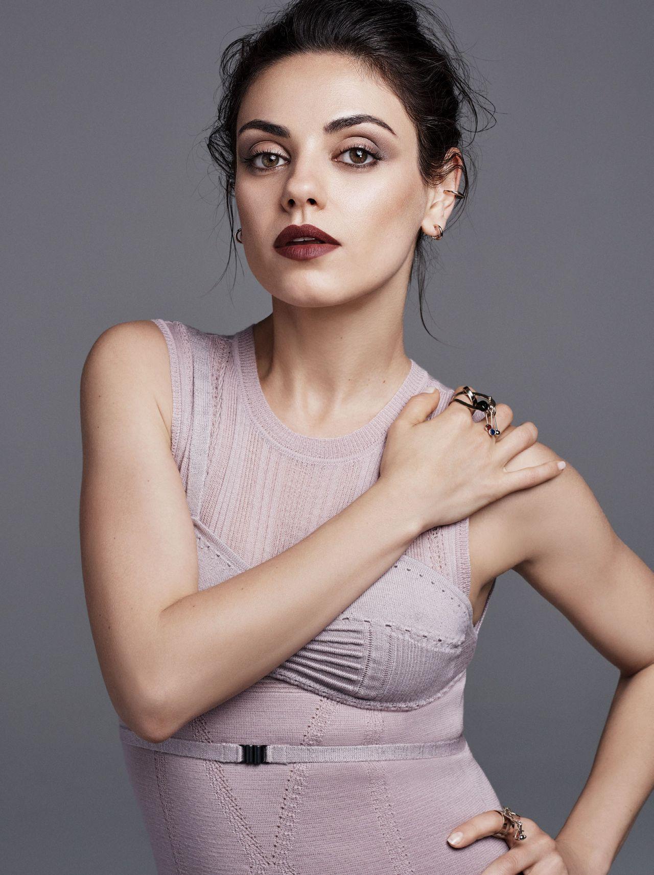 Mila Kunis - Photoshoot for US Glamour August 2016 Mila Kunis