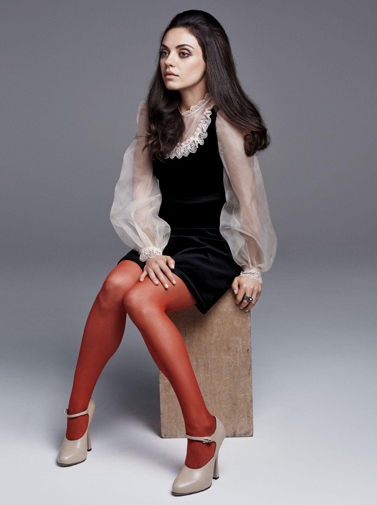 Mila Kunis Photoshoot For Us Glamour August 2016