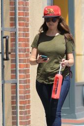 Milana Vayntrub - Shopping in Beverly Hills 7/13/2016