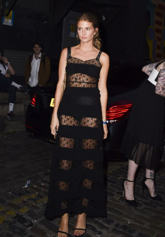 Millie Mackintosh - Arriving to the GQ & Warner Summer Party in London, July 2016