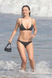 Miranda Kerr Bikini Photoshoot - Beach in Malibu, CA 7/18/2016