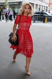 Myleene Klass - Arriving at the BBC One Show TV Studios in London 6/30/2016