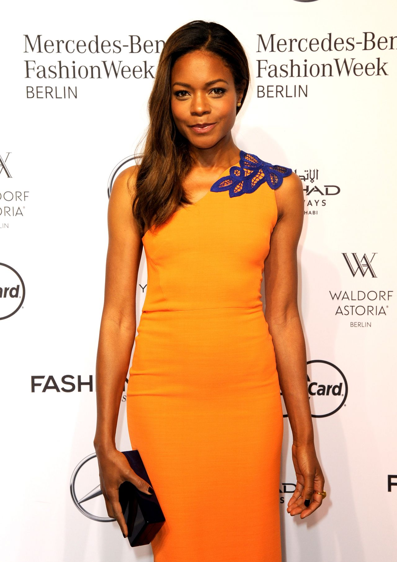 Audi Of Huntington >> Naomie Harris - 'Designer for Tomorrow' Mercedes-Benz Fashion Week in Berlin Spring/Summer 2017