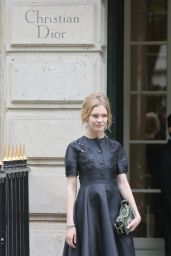 Natalia Vodianova at Dior Haute Couture Fall/Winter 2016-2017 Show – Paris Fashion Week 7/4/2016