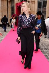 Natalie Dormer - Schiaparelli Show at Paris Fashion Week, July 2016