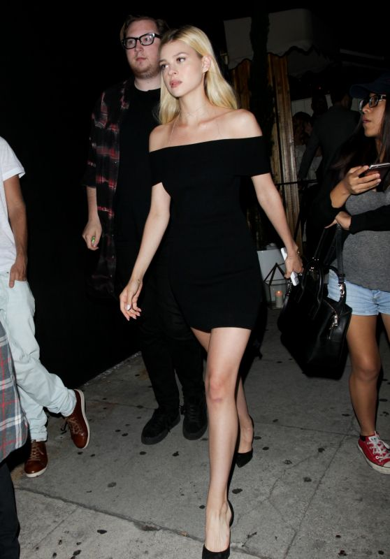 Nicola Peltz at the Nice Guy in Los Angeles 7/29/2016