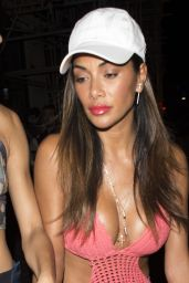 Nicole Scherzinger at the Freedom Bar in Soho London 07/24/2016