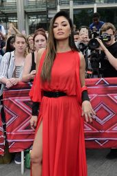Nicole Scherzinger Fashion Star - Arriving at Wembley Arena in London 7/9/2016