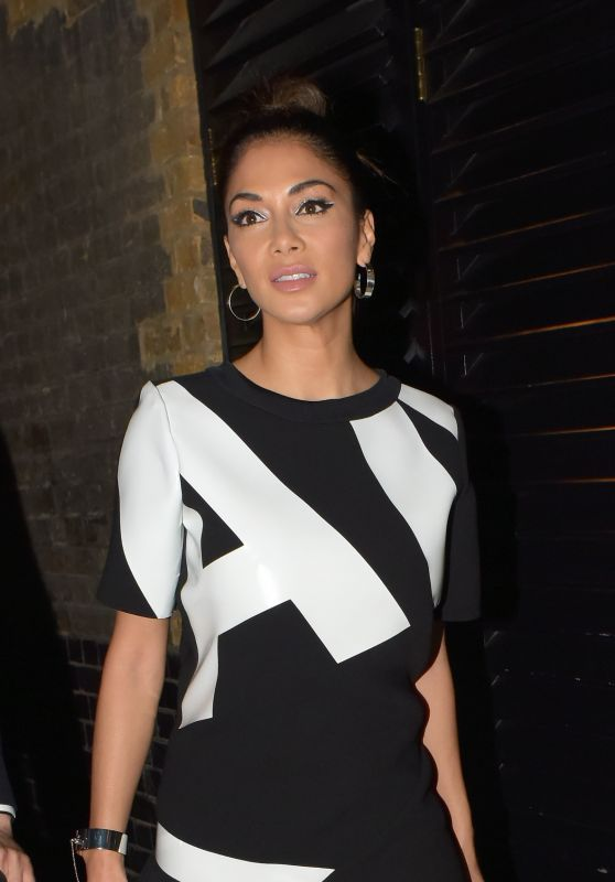 Nicole Scherzinger Night Out Style - Chiltern Firehouse in London 7/6/2016