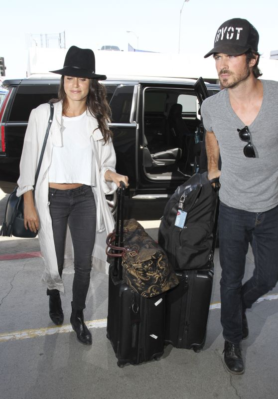 Nikki Reed at LAX Airport 7/14/2016