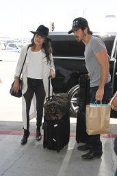 Nikki Reed at LAX Airport 7/14/2016