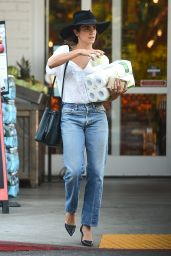 Nikki Reed Casual Style - Shopping in LA, July 2016