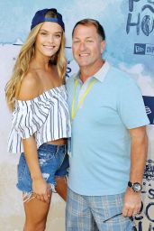 Nina Agdal - New Era Pool House at MLB All-Star Week in San Diego, July 2016