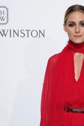 Olivia Palermo - Amfar Dinner as part of Paris Fashion Week at the Peninsula Hotel in Paris 7/3/2016