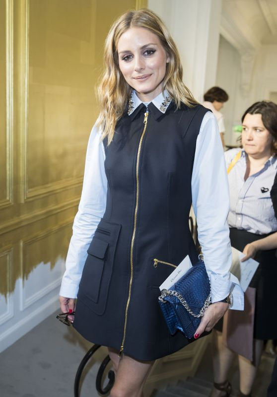 Olivia Palermo at Dior Haute Couture Fall/Winter 2016-2017 Show – Paris Fashion Week 7/4/2016