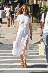 Olivia Palermo Summer Style - New York City, 07/21/2016