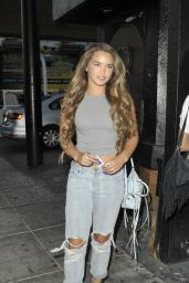 Paris Berelc in Ripped Jeans - Olivia Holt Concert at Roxy Theatre in Los Angeles 7/20/2016