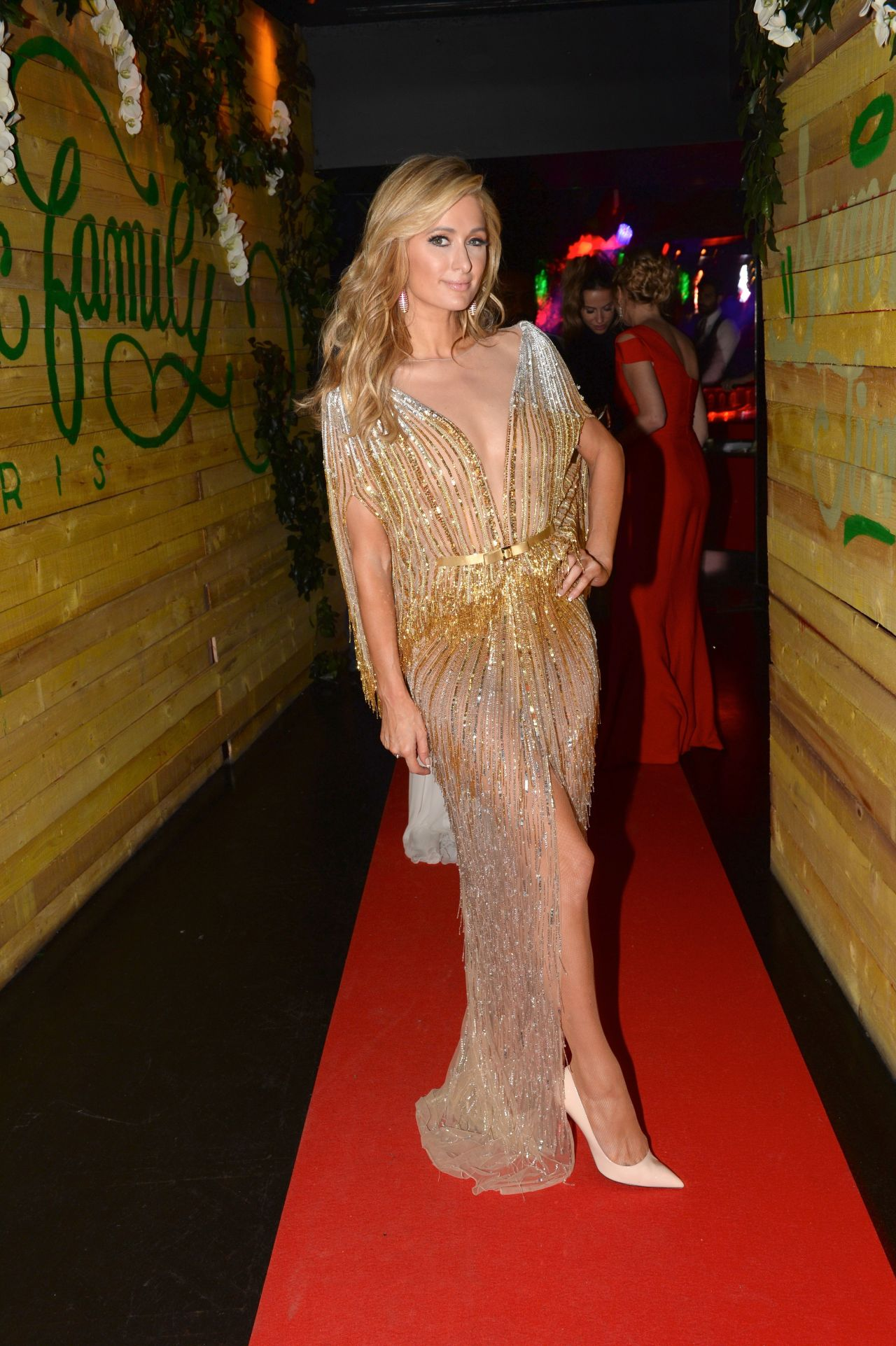 Paris Hilton At Love Ball After Party At The Club L Arc In