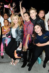 Peyton List and Bailee Madison at a Selena Gomez Concert in Los Angeles 7/8/2016