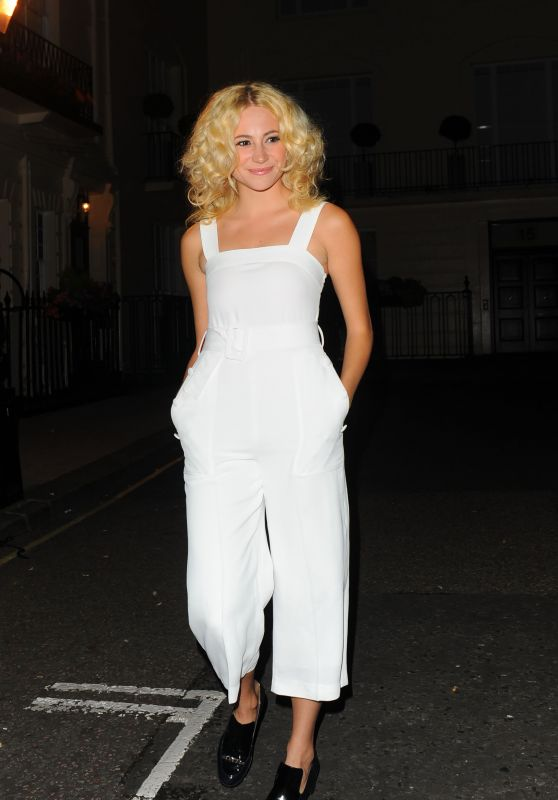Pixie Lott - Leaves Theatre Royal Haymarket in London 6/30/2016