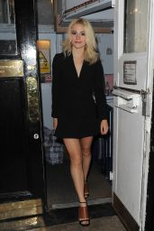 Pixie Lott Leaving Haymarket Theatre in London, 07/21/2016
