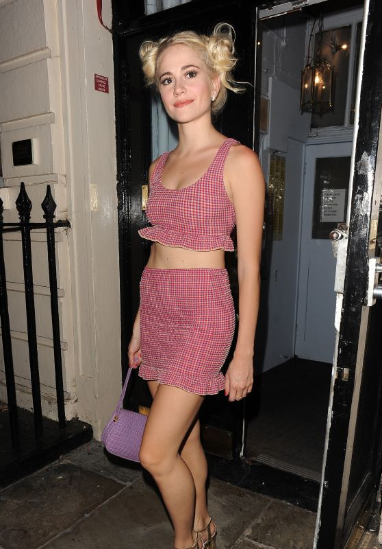 Pixie Lott - Leaving The Haymarket Theatre in London 7/19/2016