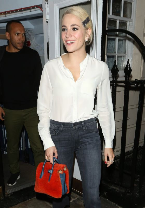 Pixie Lott Night Out - London, July 2016