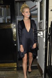 Pixie Lott Style - Leaving the Hayemarket Theatre in London 7/14/2016