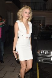 Pixie Lott Style - Leaving the Hayemarket Theatre in London 7/29/2016