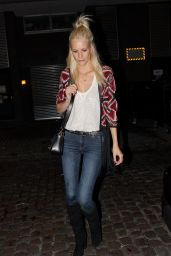 Poppy Delevingne Night Out Style - Arriving at Chiltern Fore House in London 6/30/2016