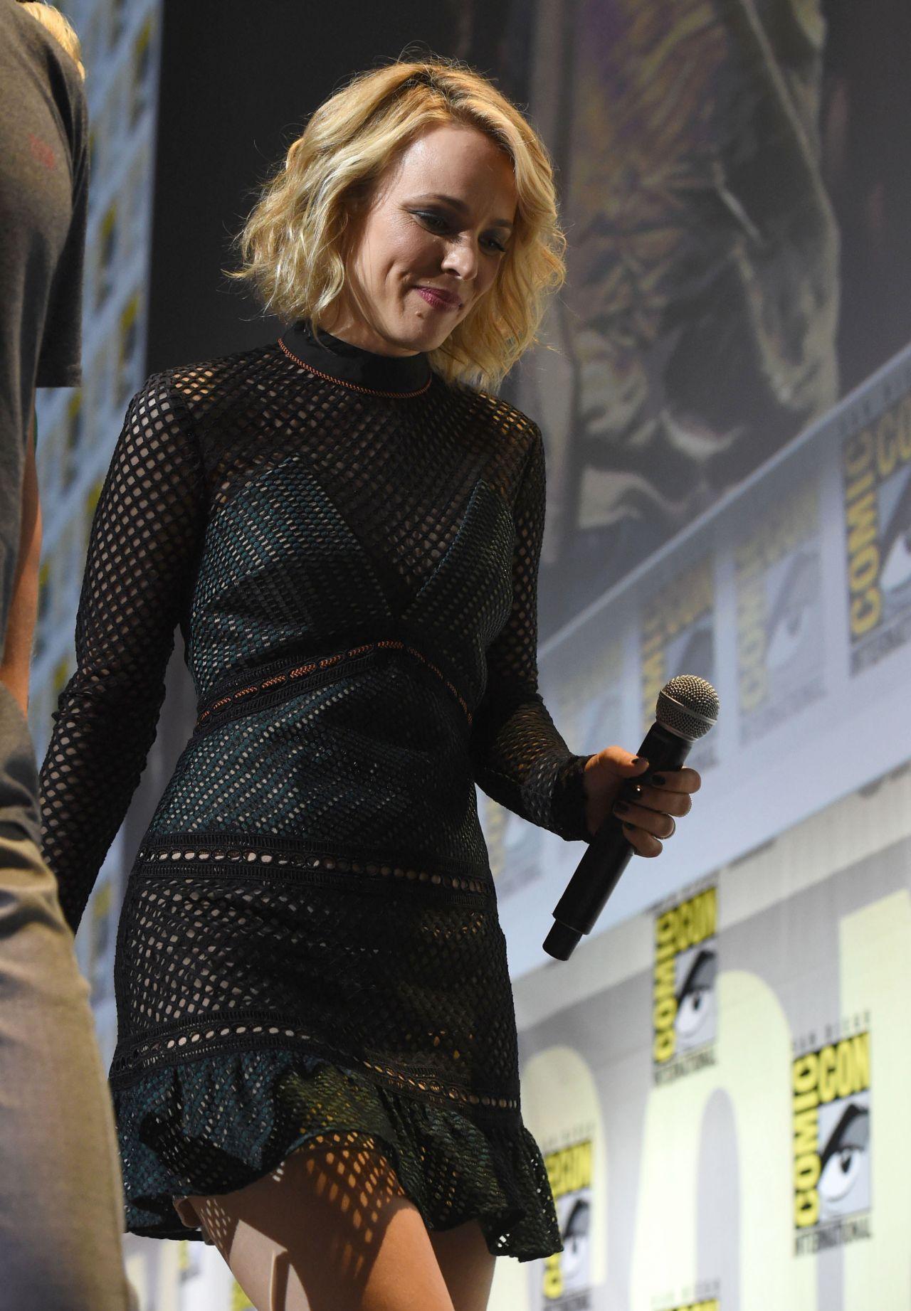 Rachel Mcadams Doctor Strange Press Panel At Comic Con