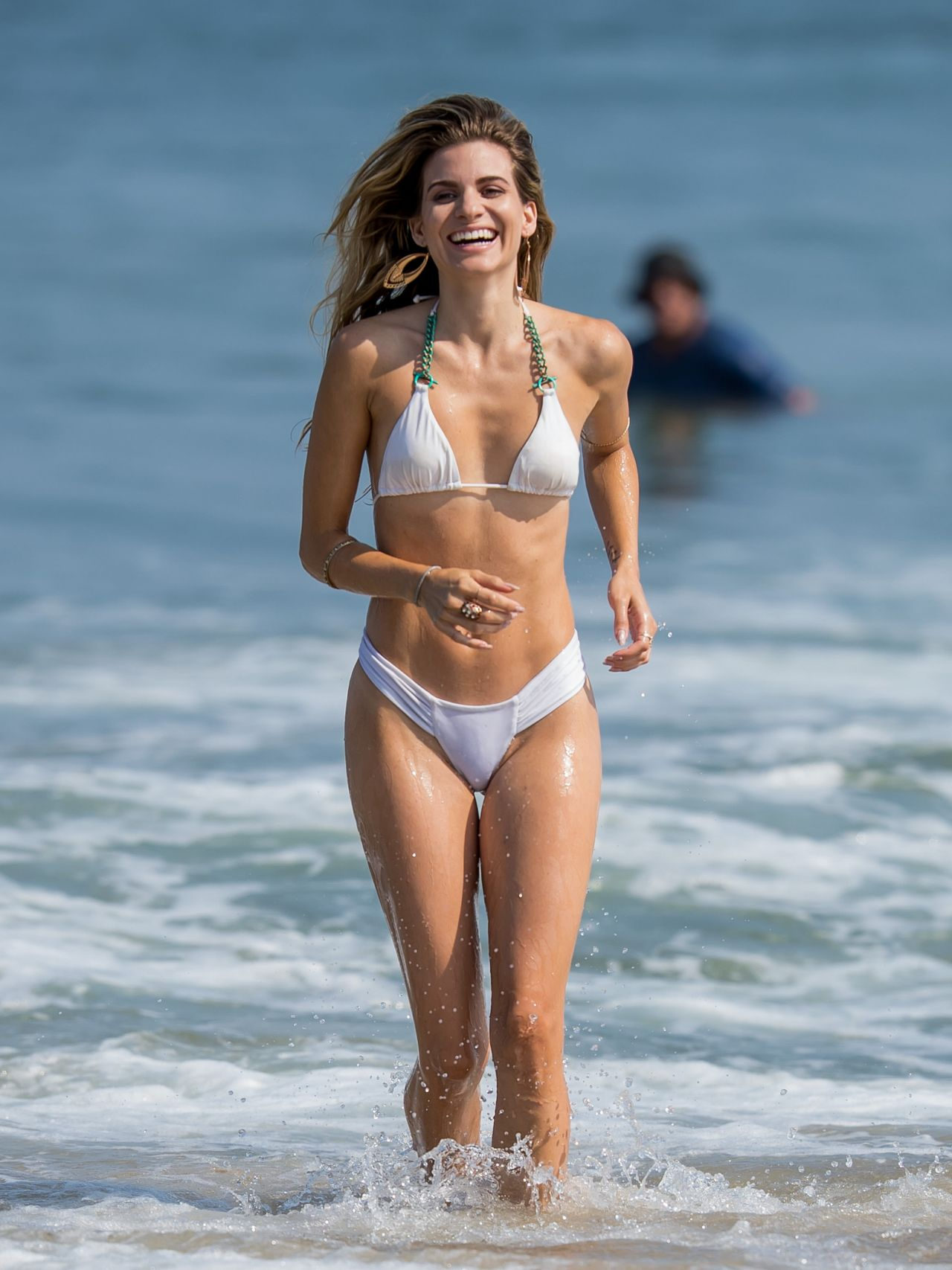 Rachel Mccord In A Bikini On A Beach In Malibu 07 30 2016