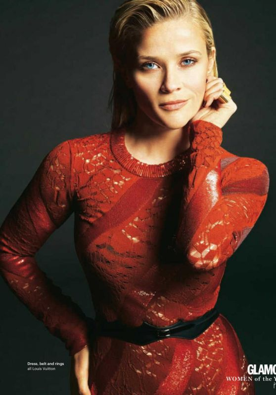 Reese Witherspoon - Glamour Magazine UK July 2016 Issue
