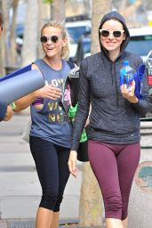 Reese Witherspoon & Naomi Watts  in Leggings - Leaving a Yoga Class in LA 7/12/2016