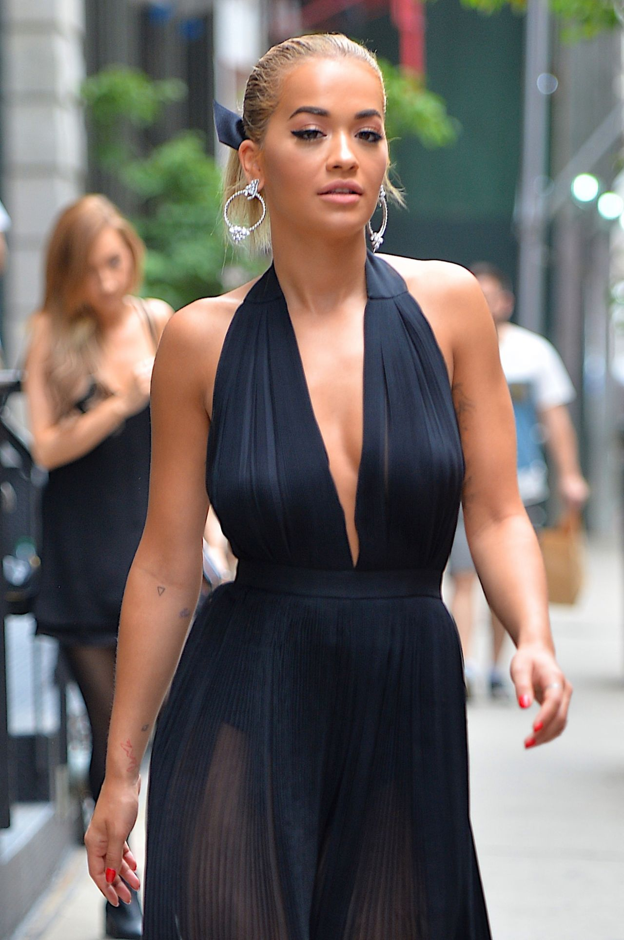 rita ora filming america 39 s next top model in nyc 7 15 2016 On next models nyc