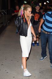 Rita Ora - Going to the Coldplay Concert in Tribeca, NYC 7/17/2016
