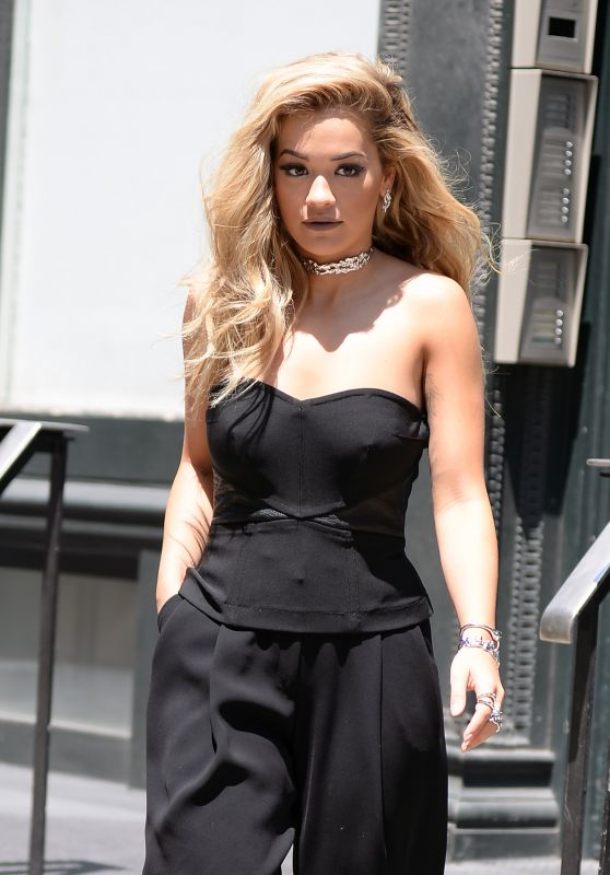 Rita Ora - Leaving Her Apartment in New York City 7/25/2016